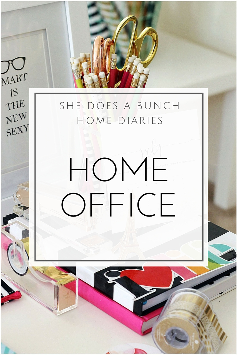 She Does a BUnch Home Office