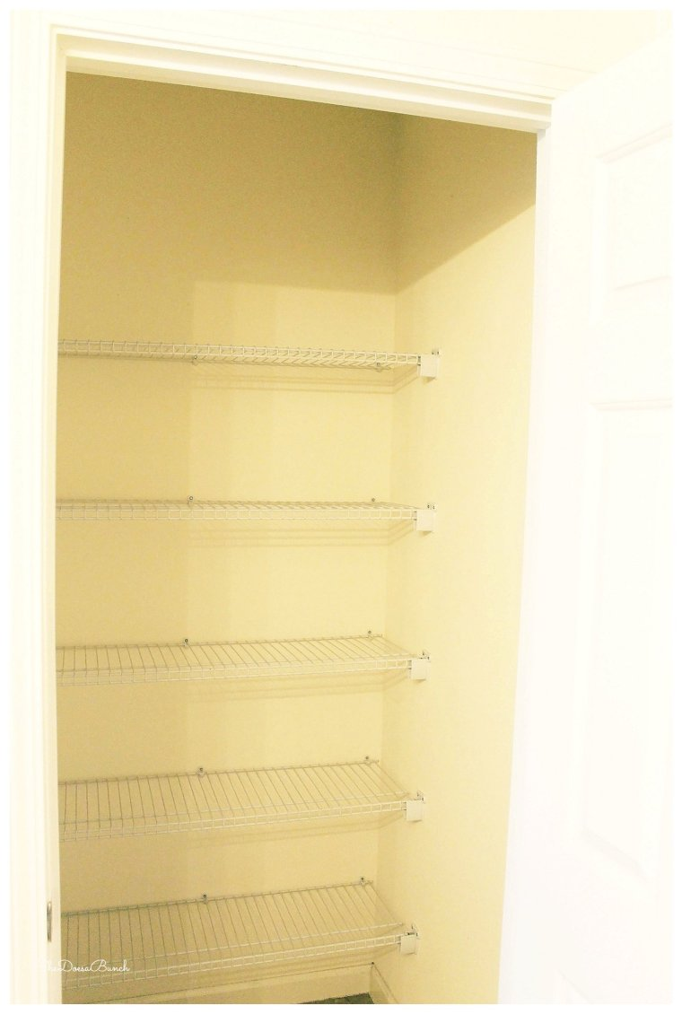 She Does a Bunch master bath closet