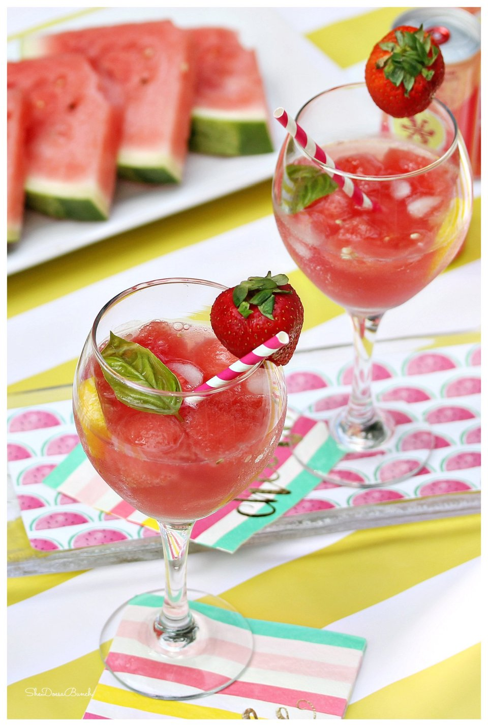 Refreshing Watermelon Mocktail