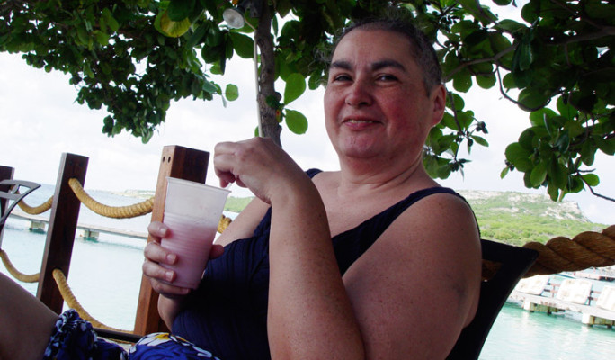 Mom in Curacao
