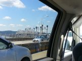 The Tappan Zee bridge looks like it's possibly under attack from At Ats!