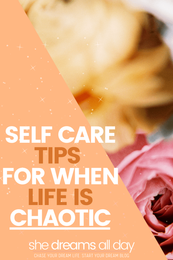 self care tips when life is tough