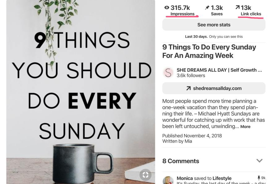 Viral pin - Pinterest Traffic Avalanche Review