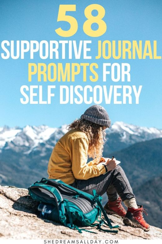 58 supportive journal prompts for self discovery