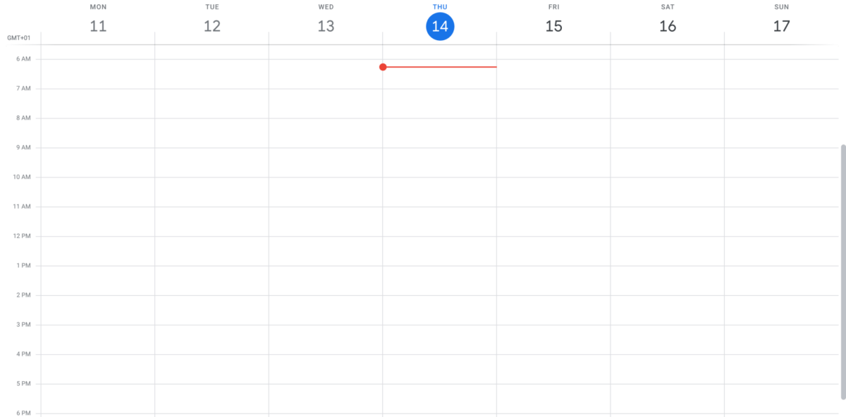 google calendar for time batching