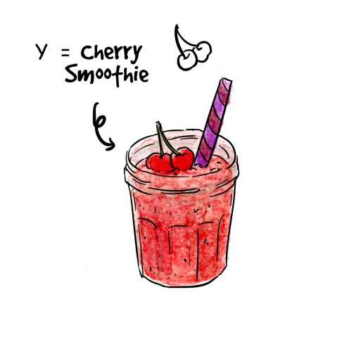 Cherry Smoothie Y