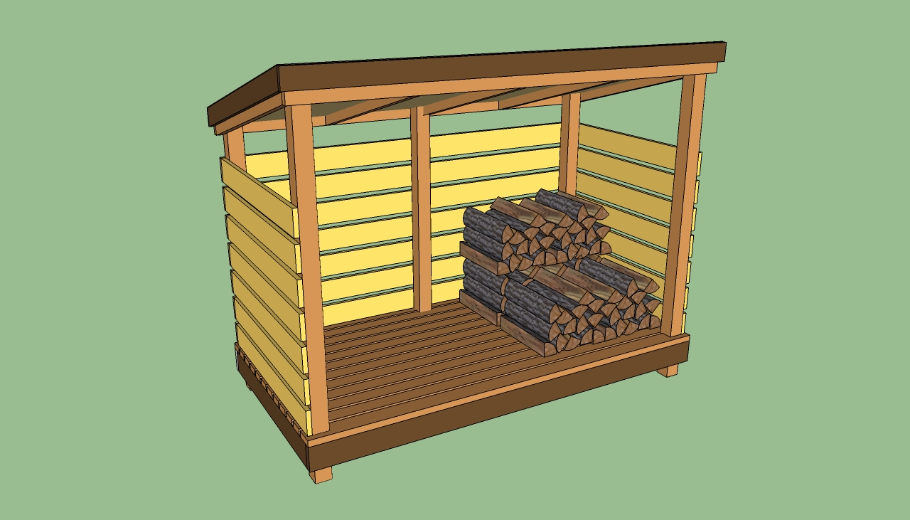 wooden storage building plans