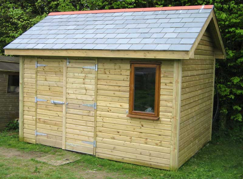 Build Your Own Garden Shed
