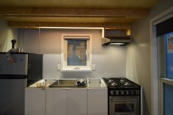 IN beam lighting and range hood are installed!