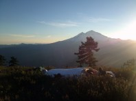 Sleeping with Mt. Baker