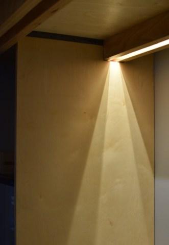 Kitchen (in-beam) LED task lighting