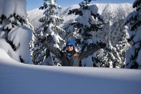 DEEP snow pack