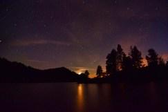 Summer Solstice Midnight Moon