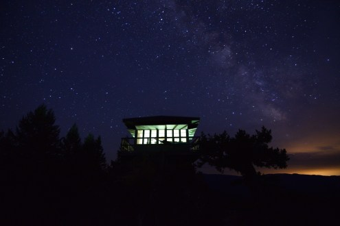 "I stole a glance at the black faced log book before leaving the fire lookout for the last time after spending two nights there with my family. ""I saw the Milky Way for the first time ever..."" my 52 year old mother wrote ""...it was so amazing."" We had accomplished what we set out to do; to gift an experience of a lifetime to a person who truly deserved it. We may never re-visit this incredible place, but it will be talked about for the rest of our lives. Oregon, August 2016"