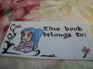 Sticker/ Book plate