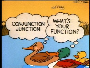 Conjunction Junction