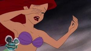 Ariel Crying