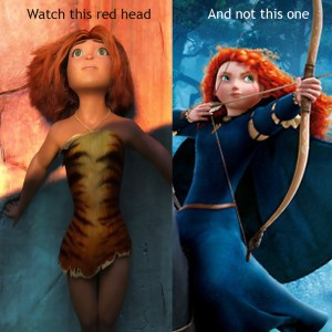 Croods vs. Brave