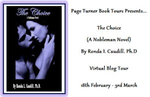 The Choice Blog Tour Banner