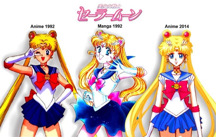 Sailor Moon Comparison