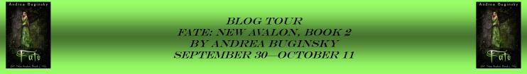 Fate by Andrea Buginsky Blog Tour Banner