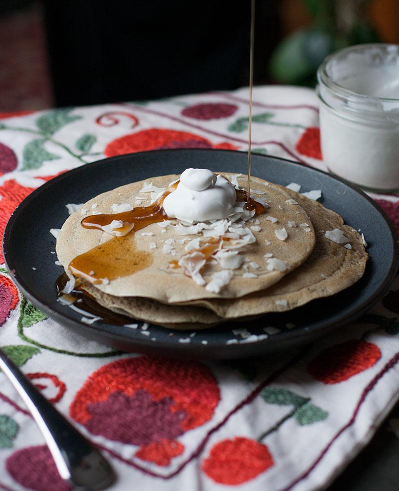 Gluten-Free Ginger Pancake | SheenaScott.com