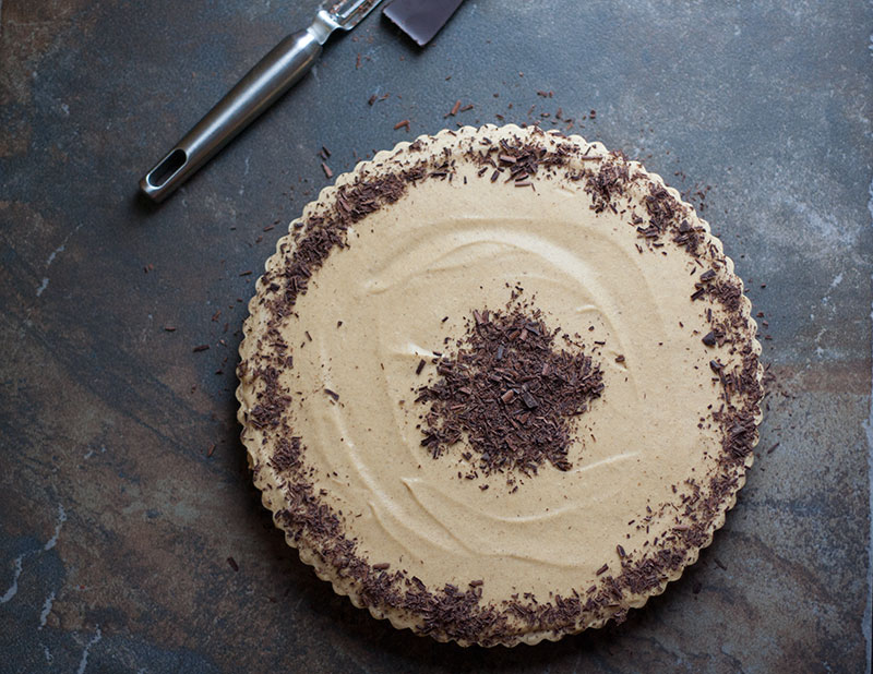 Pumpkin Spice Ice Cream Pie