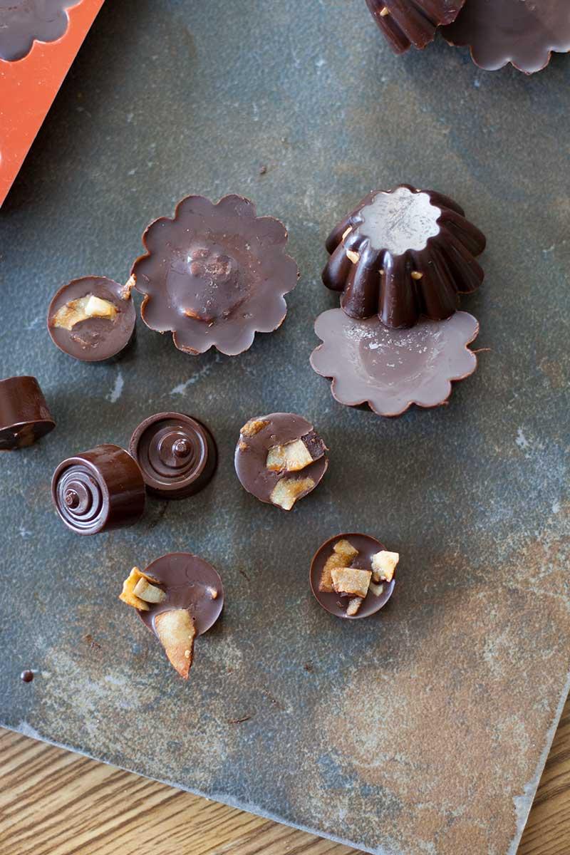 Coconut Bacon Chocolates   SheenaScott.com