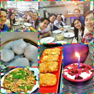 2014.02.17 @Eaztpark Resto and Grill as we celebrate Sir Don's Birthday! :)