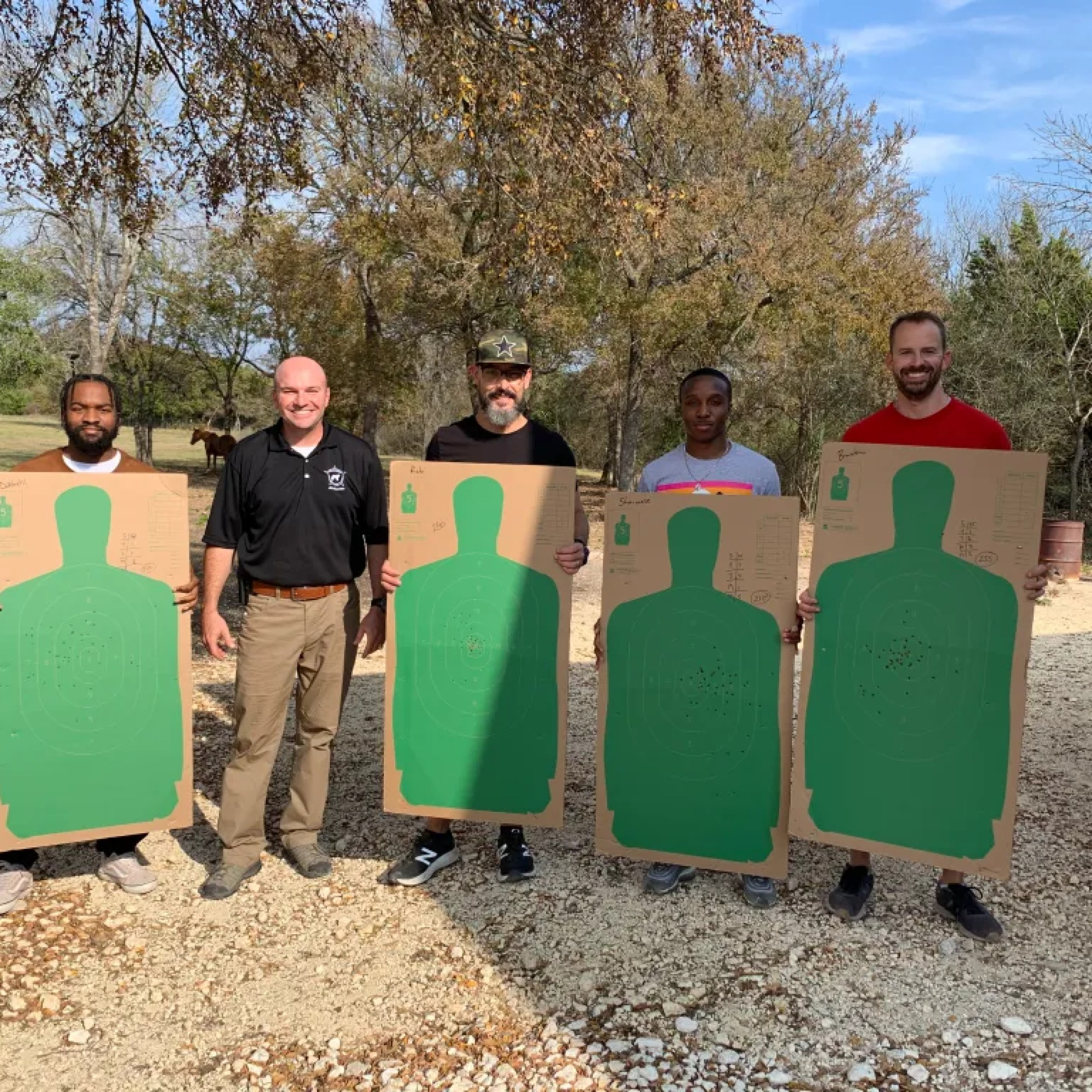 Great License to Carry class in Central Texas today