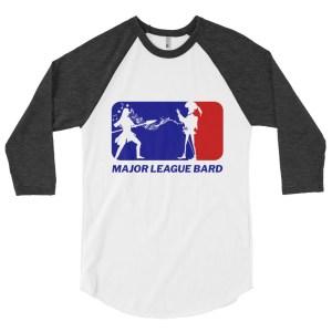 Bard's Bolero 3/4 Baseball Raglan