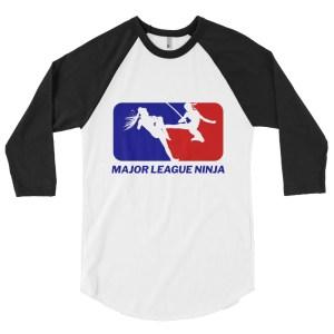 Shinobi Showdown 3/4 Baseball Raglan