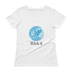 Women's BA&A Scoopneck T-Shirt