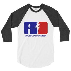 Danger Ranger 3/4 Baseball Raglan