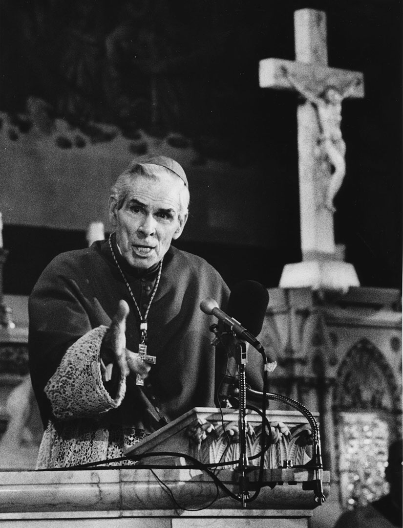 """Violence has to be restored"" Archbishop Sheen's Warning of a Crisis in Christendom"