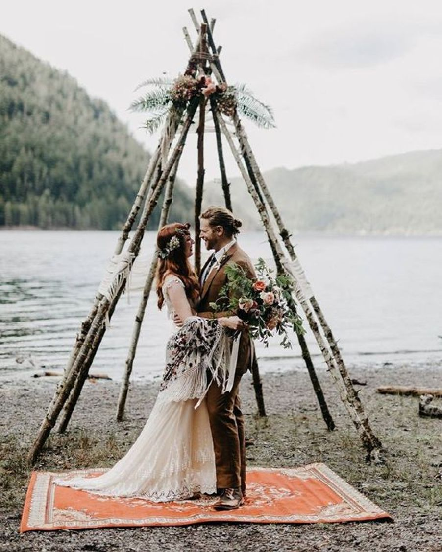 Boho wedding inspiration @Sheer Ever After