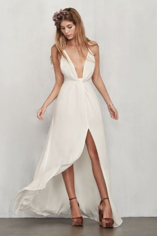 Be inspired by these gorgeous wedding dresses perfect for the alternative Bride who wants to express her independent self | This and more at www.SheerEverAfter.com
