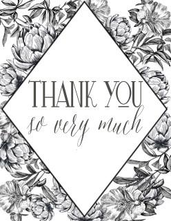 Thank you Artichoke Elegant