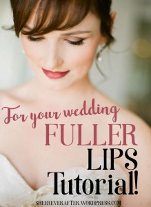 Wedding makeup tutorial @Sheer ever after