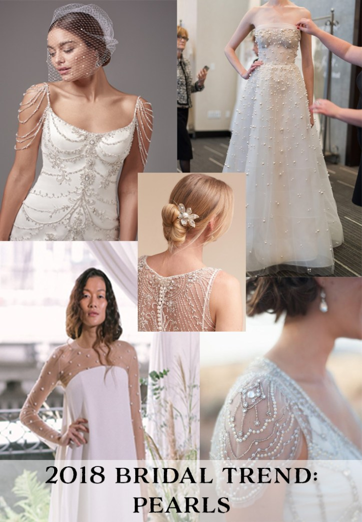 2018 Bridal Trend: Pearls