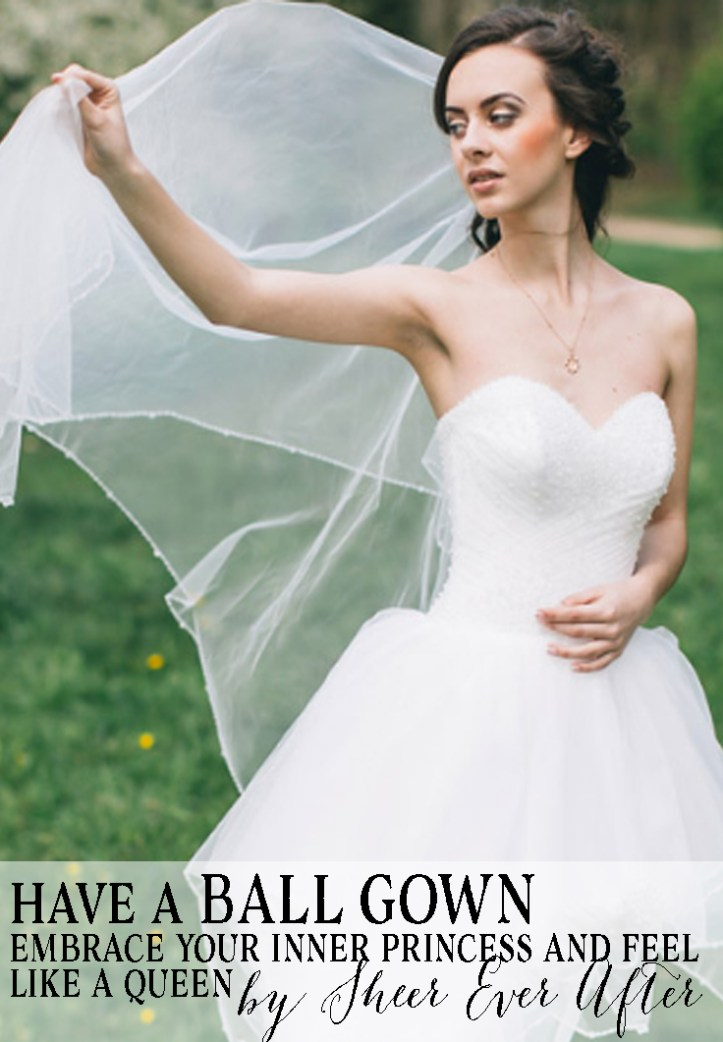 These 35 Ball Gown Wedding Dresses Will Awaken Your Secret Cinderella