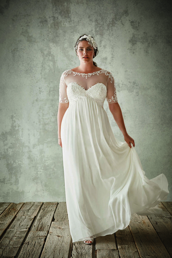 Discover the Right Dress For You As a Curvy Bride // An wedding dress article // SHEER EVER AFTER WEDDINGS www.sheereverafter.wordpress.com