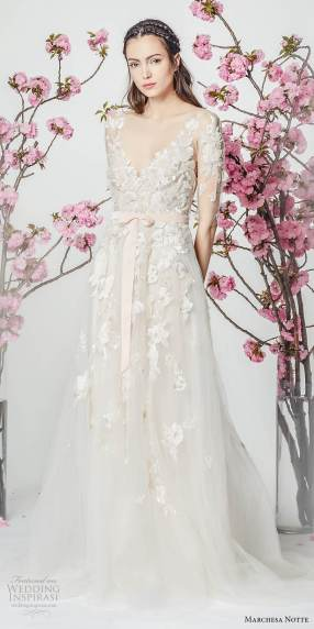 Gorgeous Bell sleeve wedding dress - 15 Fabulous Wedding Ideas for your 2018 Wedding Celebration ..... @Sheer Ever After wedding blog. www.SheerEverAfter.wordpress.com