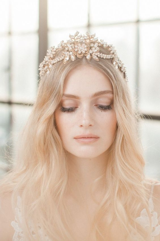 We Think You Might Adore These Gorgeous Unique Bridal Tiaras and 14 other Fabulous Wedding Ideas for your 2018 Wedding Celebration ..... @Sheer Ever After wedding blog. SheerEverAfter.wordpress.com