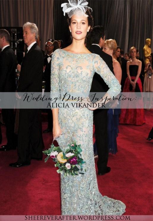 Alicia Vikander Wedding Ideas // SHEER EVER AFTER WEDDINGS