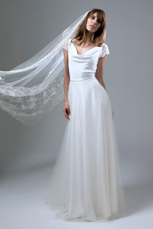 Wedding Dress by Halfpenny London // Alicia Vikander Wedding Ideas // SHEER EVER AFTER WEDDINGS