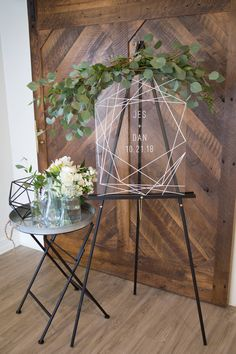 We Think You Might Adore These Gorgeous Geometric Wedding Decor Details and 14 other Fabulous Wedding Ideas for your 2018 Wedding Celebration ..... @Sheer Ever After wedding blog. SheerEverAfter.wordpress.com