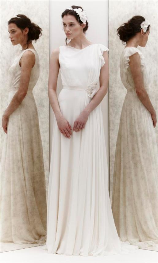 Wedding Dress by Jenny Packham // Alicia Vikander Wedding Ideas // SHEER EVER AFTER WEDDINGS