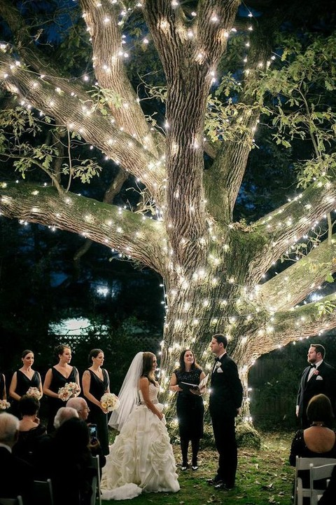 We Think You Might Adore These Gorgeous Unique Wedding Light Installations and 14 other Fabulous Wedding Ideas for your 2018 Wedding Celebration ..... @Sheer Ever After wedding blog. SheerEverAfter.wordpress.com