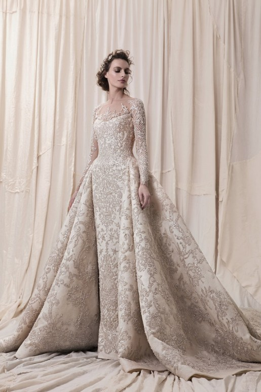 Krikor Jabotian Wedding Dress // Alicia Vikander Wedding Ideas // SHEER EVER AFTER WEDDINGS